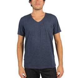 G-Star Raw - Mens Guzy Round-Neck T-Shirt Jisoe Jersey In Sapphire Blue
