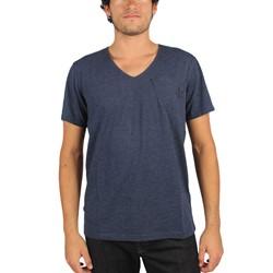 G-Star Raw - Mens Guzy Round-Neck T-Shirt Jisoe Jersey In Sapphire Blue