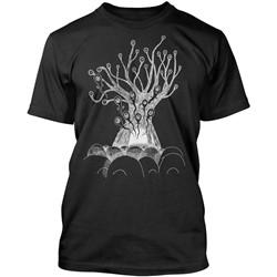 Radiohead - Mens New Tree T-Shirt in Vintage Black