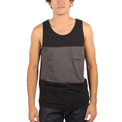 Kr3w - Mens Byrd Tank Top in Black