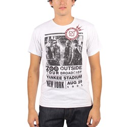 U2 - Mens Zoo Outside Tour T-Shirt in Heather Grey
