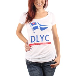 Diamond Supply Co. - Womens DLYC Member Scoop T-Shirt in White