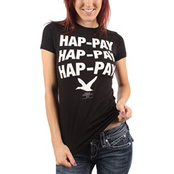 Duck Dynasty - Womens Hap-Pay T-Shirt in Black