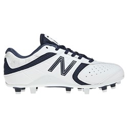 New Balance Lacrosse Lo-Cut 5464 Womens Sport Shoes (White)