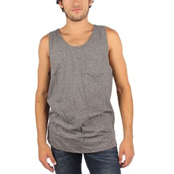 Kr3w - Mens Minimal Tank Top in Black
