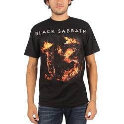 Black Sabbath - Mens 13 Black T-Shirt in Black