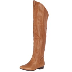 Chinese Laundry - Womens South Bay Leather Boots in Cognac