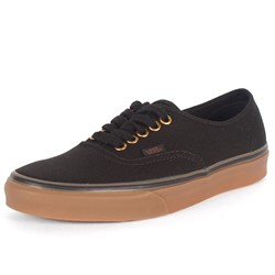Vans - Unisex Authentic Shoes In Black/Rubb