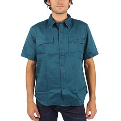 HUF - Mens Potrero Work Shirt in Jade