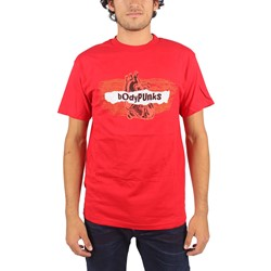 BodyPUNKS! - Mens Radiowave T-shirt In Red