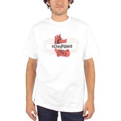 BodyPUNKS! - Mens Radiowave T-shirt In White