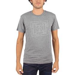 Kr3w - Mens Pinned T-Shirt in Grey/Heather