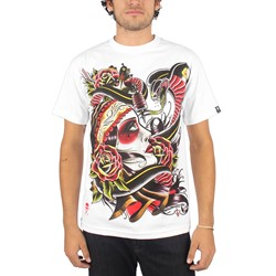 Sullen - Mens Gypsy T-Shirt in White