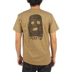 Matix - Mens Ski Mask T-Shirt