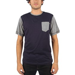 Lucky 13 - Mens Clean Up Traditional Color Block T-Shirt