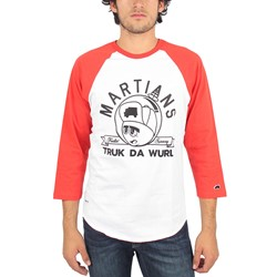 Trukfit - Mens Feelin' Spacey 3/4 Raglan in Poppy Red