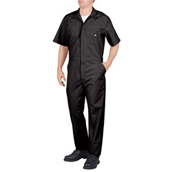 Dickies - Men's Work Short Sleeve Poplin Coverall