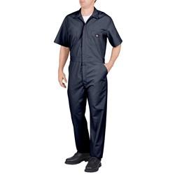 Dickies - Men's Work Short Sleeve Poplin Coverall
