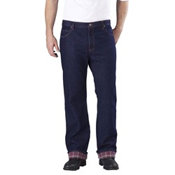 Dickies - Mens DD217 Relaxed Fit Flannel-Lined Pocket Jean