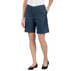Dickies - FR221 Women's 9 Flat Front Short