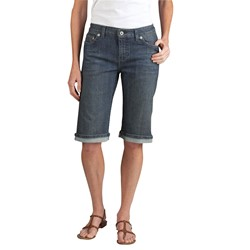 "Dickies - Womens FR332 13"" Slim Denim Shorts"