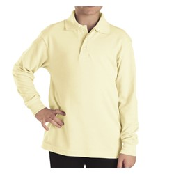 Dickies - KL3452 Boys Preschool Long Sleeve Pique Polo Shirt