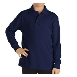 Dickies - KL4452 Kid's Long Sleeve Pique Polo Shirt