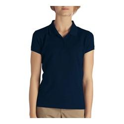 Dickies - KS952 Girls Short Sleeve Pique Polo Shirt