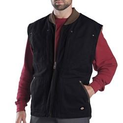Dickies - TE445 Sanded Duck Sherpa Lined Vest