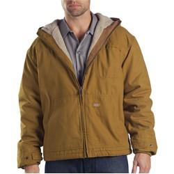 Dickies - TJ350 Sanded Duck Sherpa Lined Hooded Jacket