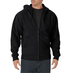 Dickies - Mens TW391 Midweight Fleece Full Zip Hoodie