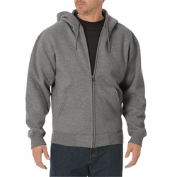 Dickies - Mens TW391 Midweight Fleece Full Zip Hoodie