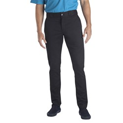 Dickies - Mens Skinny Fit Straight Leg Flat Front Pants