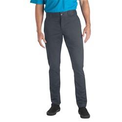 Dickies - Mens Skinny Fit Straight Leg Flat Front Pants