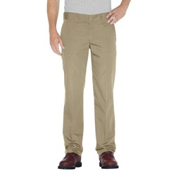 Dickies - Mens WP805 Slim Straight Fit Poplin Work Pant