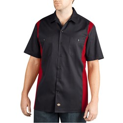 Dickies - Mens WS508 Short Sleeve Two-Tone Work Shirt