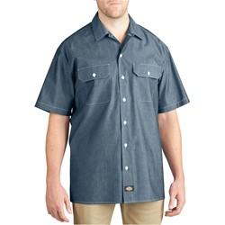 Dickies - Mens WS509 Short Sleeve Chambray Shirt