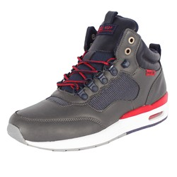 HUF - Mens HR-1 Shoes in Gray/Navy