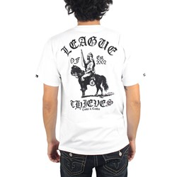 Crooks & Castles - Mens League of Thieves T-Shirt in White