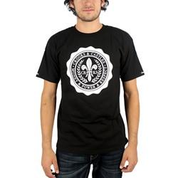 Crooks & Castles - Mens Stamped T-Shirt in Black