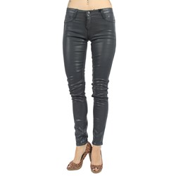 Bleulab - Womens 8-Pocket Jean Leggings in Steel