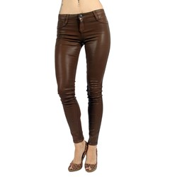Bleulab - Womens 8-Pocket Jean Leggings in Fauve