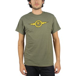 Pixies - Mens Lightning T-Shirt in Military