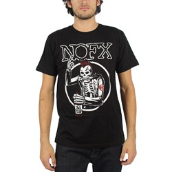 NOFX - Mens Old Skull T-Shirt in Black
