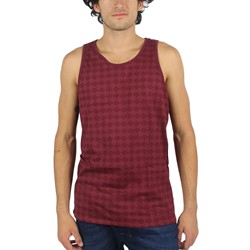 HUF - Mens Luxe Tank Top in Burgundy