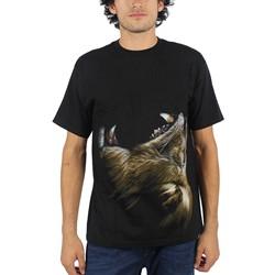Rook - Mens Beast T-Shirt in Black