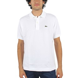 Lacoste - Mens Short Sleeve Classic Pique Polo in White