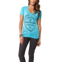 Metal Mulisha - Womens Lovelorn V Neck T-Shirt