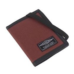 The Hundreds - Murky Bi-Fold Wallet in Maroon