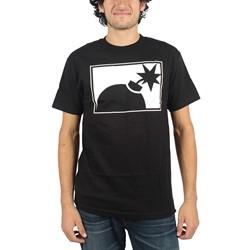 The Hundreds - Mens Forever Halfbomb T-Shirt in Black